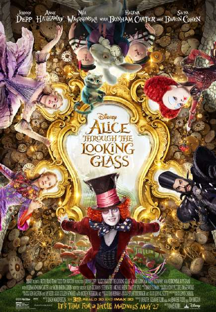 Alice in Wonderland 2: Alice Through the Looking Glass (2016)